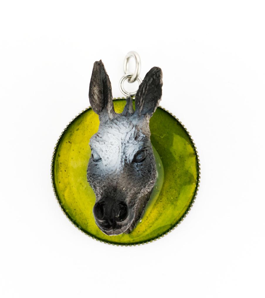 Donkey green - hanger | Sieraad - Belinda Brama