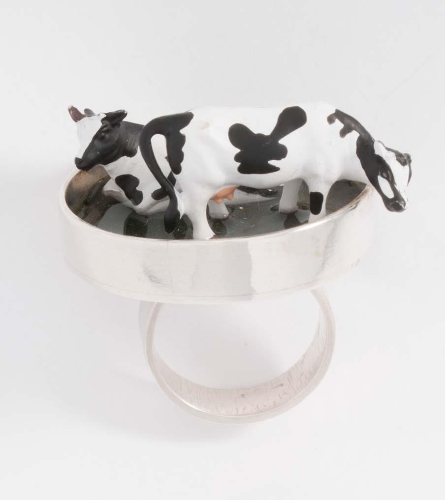 Koeien in de wei ring | Sieraad - Belinda Brama