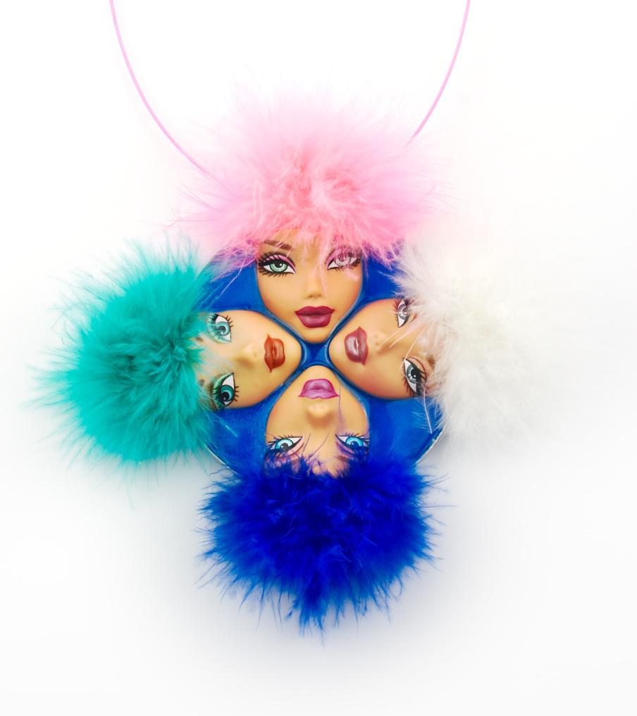 4 Ladies - hanger | Sieraad - Belinda Brama