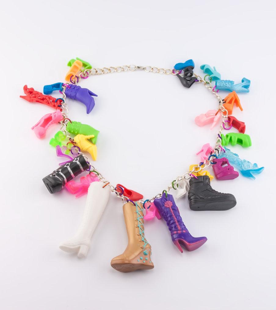 A lot of shoes - ketting | Sieraad - Belinda Brama