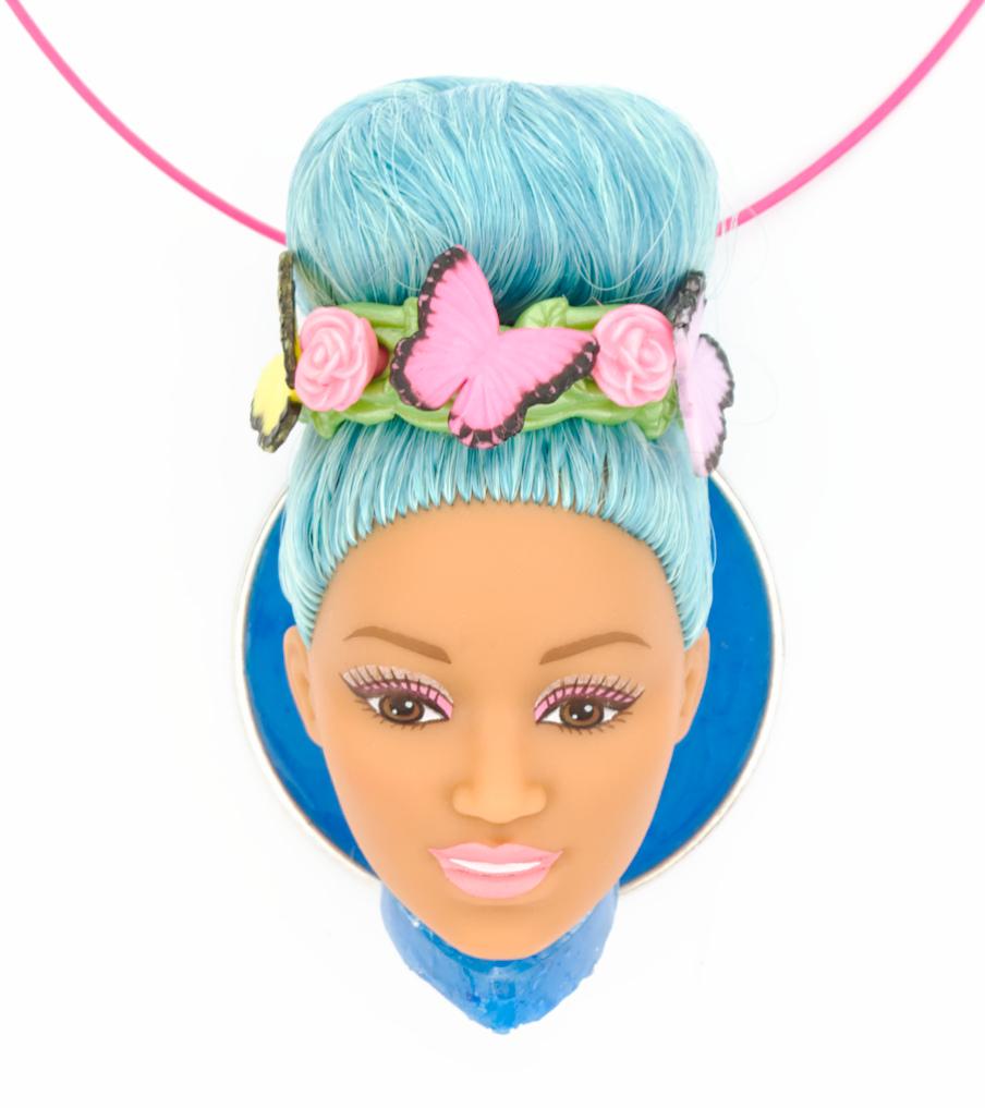 Butterfly Barbie - hanger | Sieraad - Belinda Brama
