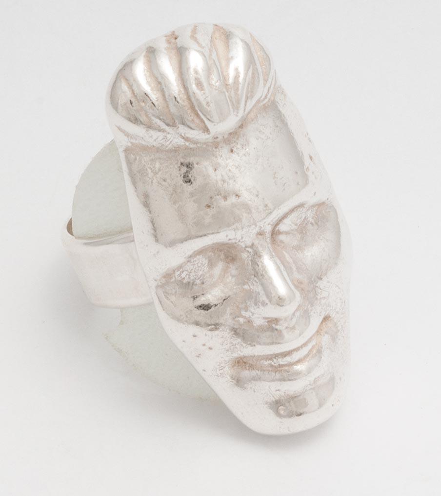 Ken ring zilver | Sieraad - Belinda Brama