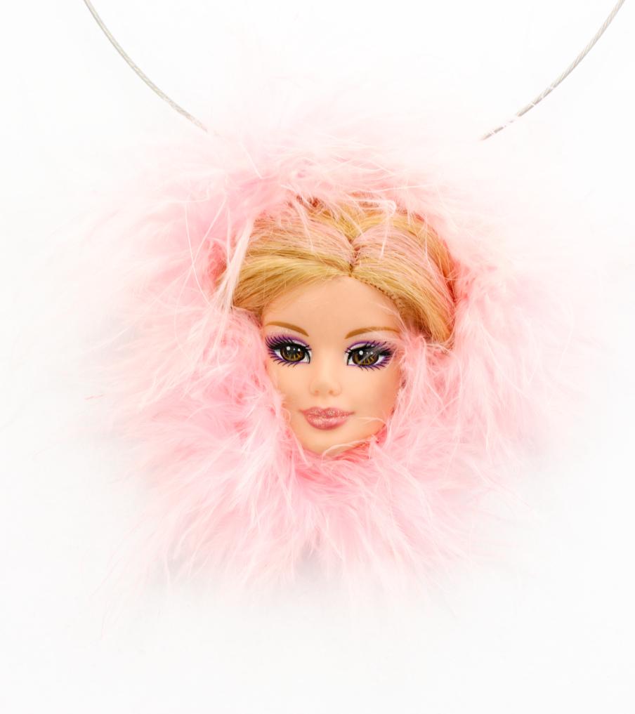 Pink barbie - hanger | Sieraad - Belinda Brama
