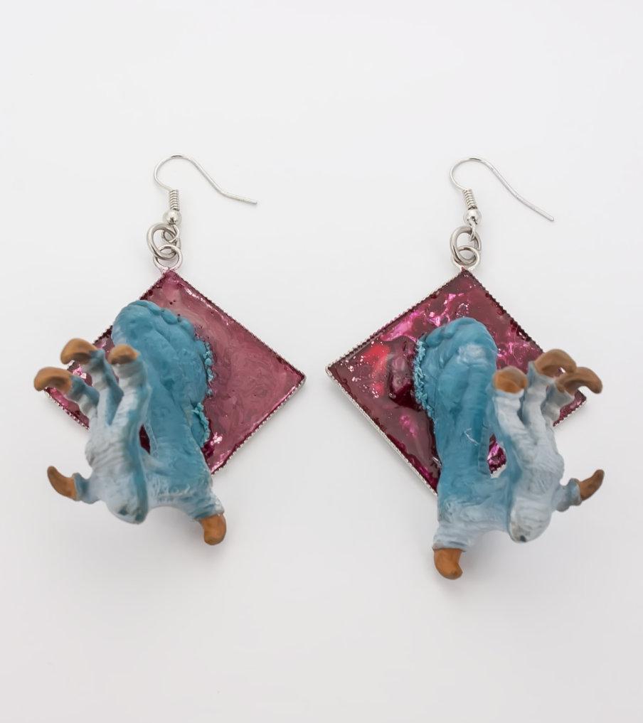 Drakenpoten - oorbellen - Belinda Brama