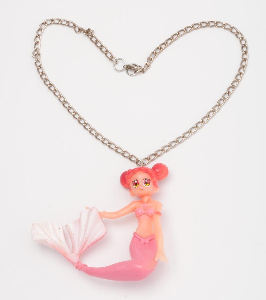 Roze zeemeermin ketting | Sieraad - Belinda Brama