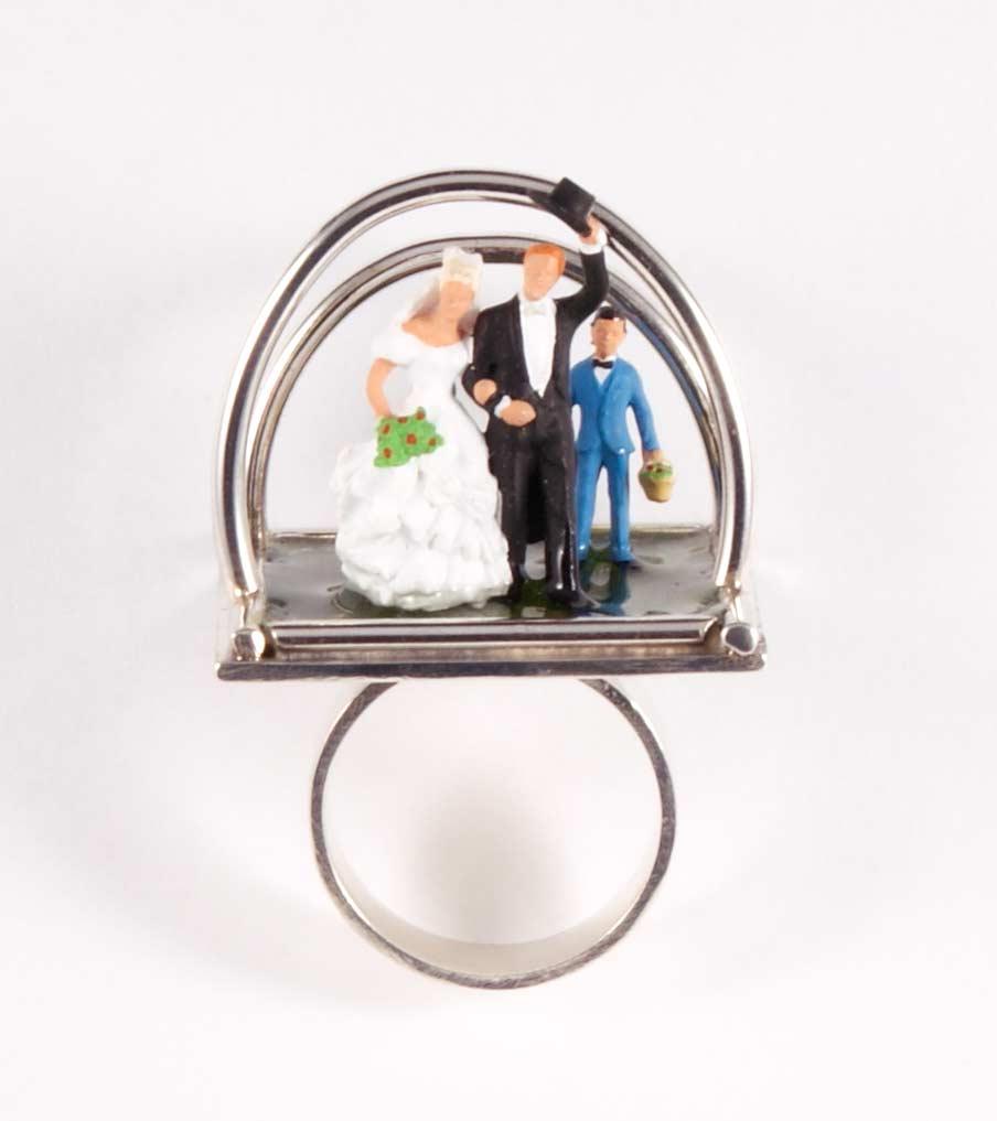 Bruidspaar ring vooraanzicht | Sieraad - Belinda Brama