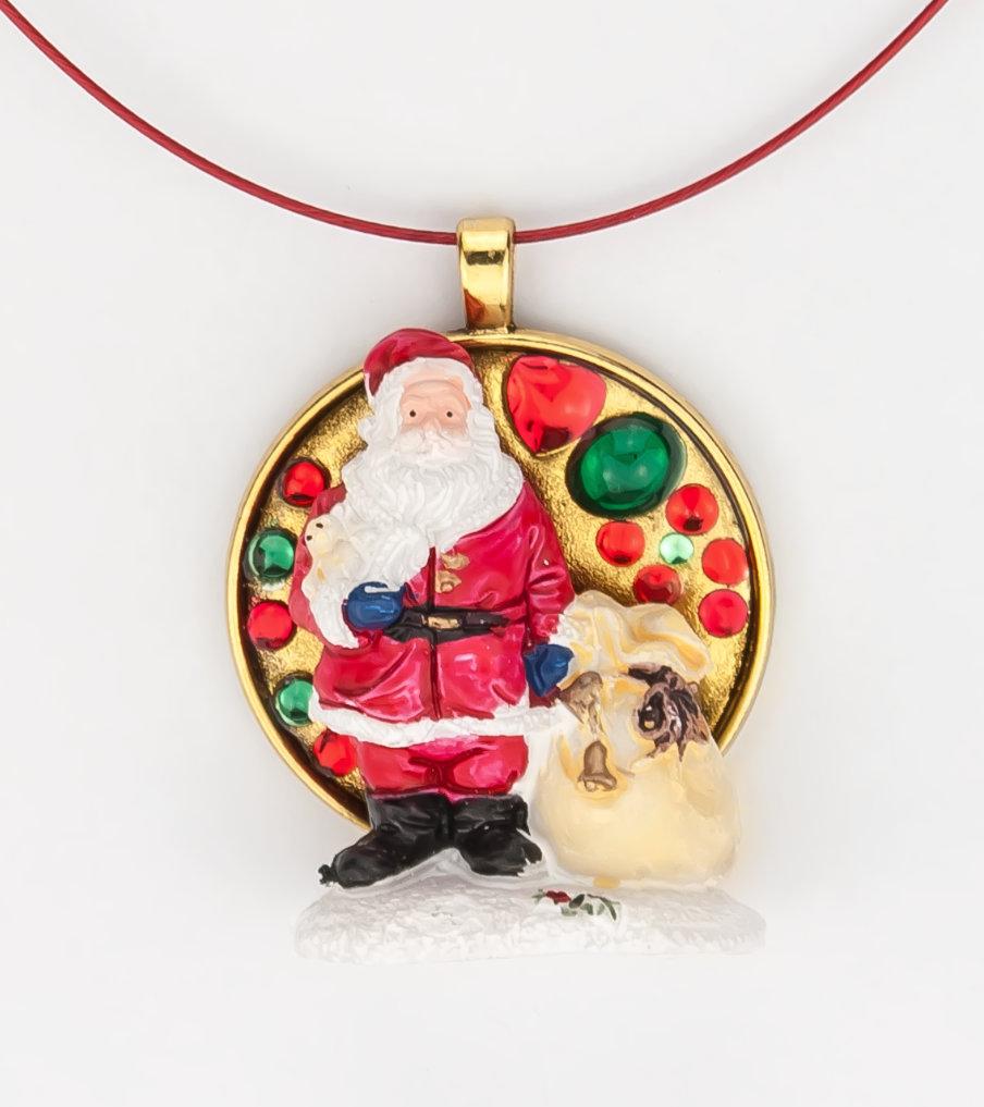 Kerstman - hanger - Belinda Brama