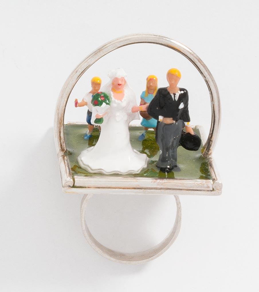 Trouwerij klassiek ring | Sieraad - Belinda Brama
