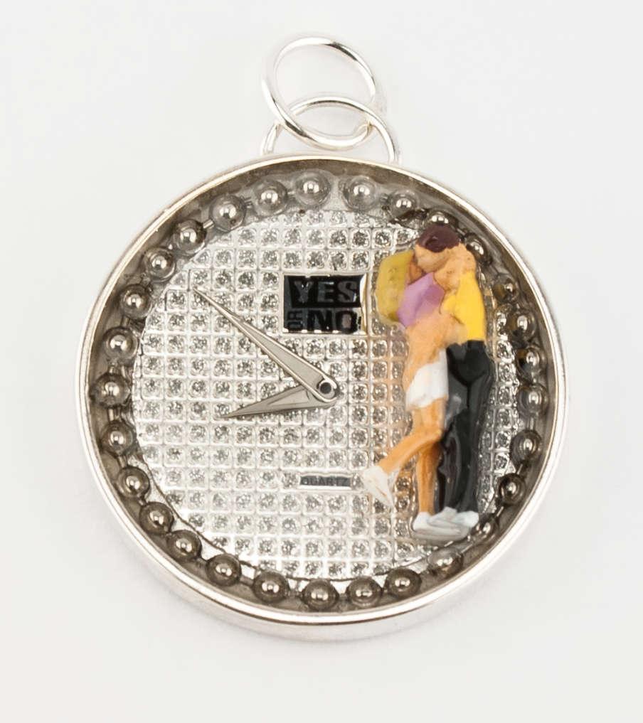 Proposal - zilver - hanger | Sieraad - Belinda Brama