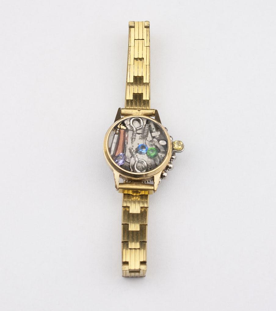 Horloge armband | Sieraad - Belinda Brama