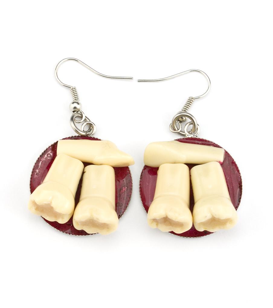 Teeth - oorbellen | Sieraad - Belinda Brama
