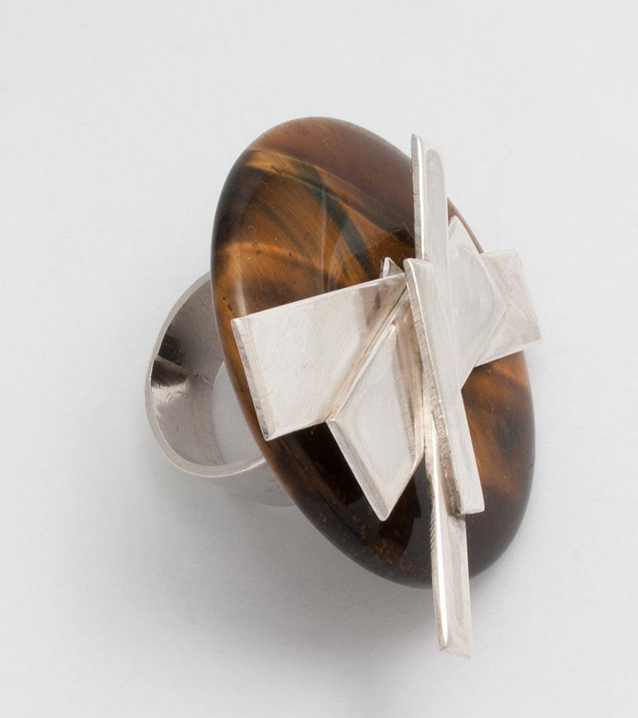 Verwisselbare ring bruin | Sieraad - Belinda Brama